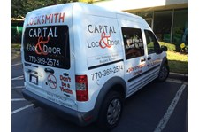 Vehicle Wrap for Capital Lock Acworth, GA
